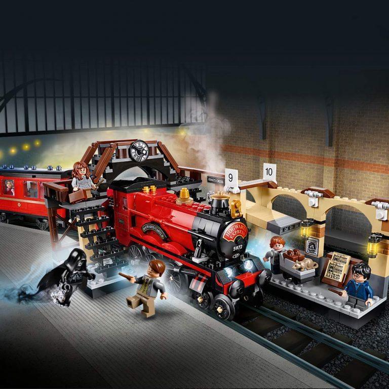 Sets de Lego de juguetes de construcción de Harry Potter - Lego Tren