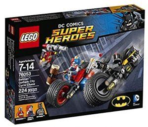 Sets de Lego de juguetes de construcción de Batman - batman vs Harley Quinn