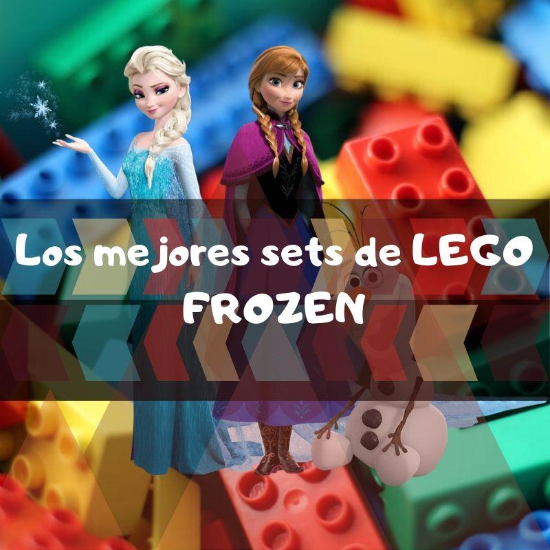 los mejores sets de piezas de Lego de Frozen y Frozen II