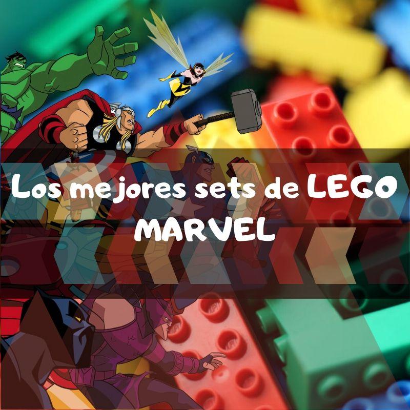 los mejores sets de piezas de Lego de Marvel
