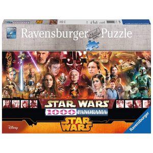 Puzzles de Star Wars de Disney - Puzzle panorámico de star wars