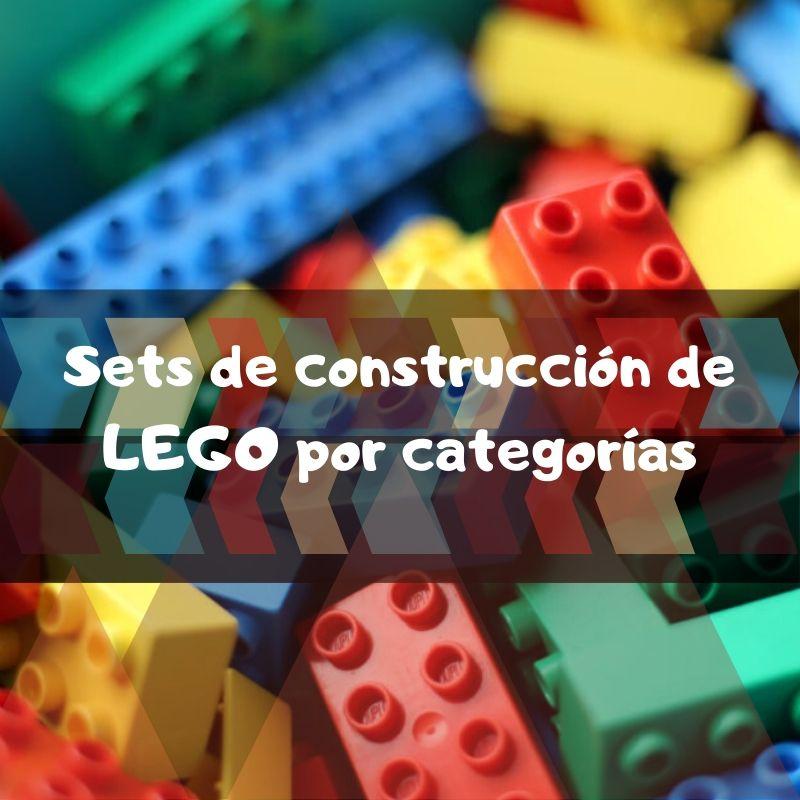 sets de LEGO de construcción de piezas por categorias