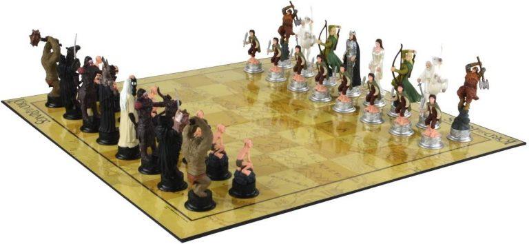 Ajedrez Señor de los anillos - Juegos de mesa para 2