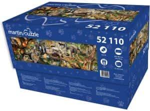 Puzzle de animales de 52110 piezas