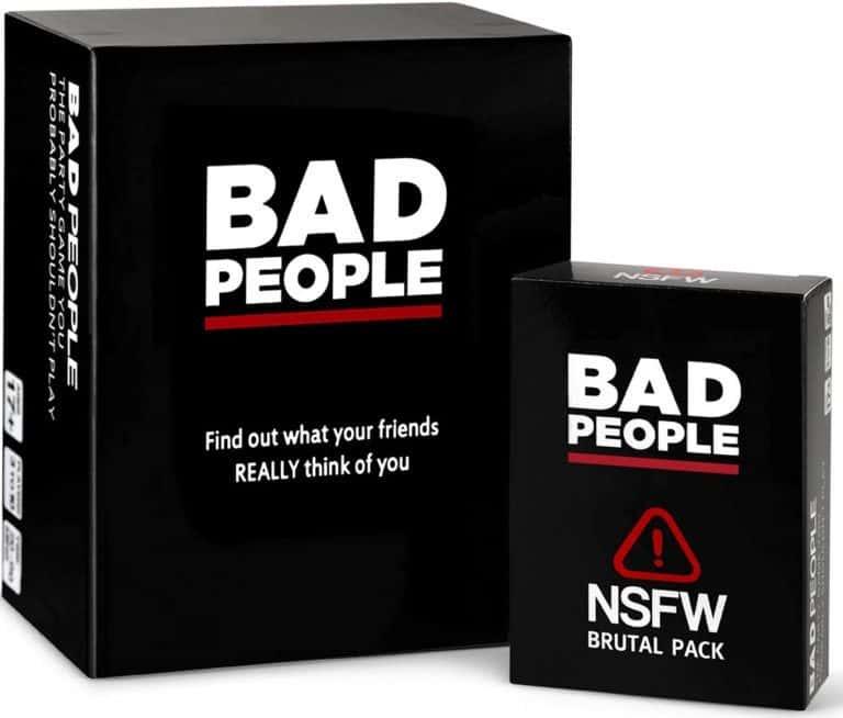 Bad People en ingles juego de mesa para adultos