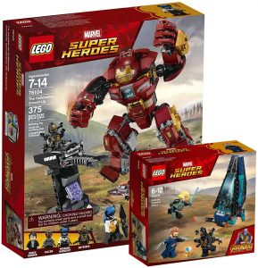 Sets de Lego de construcción de Marvel Vengadores - LEGO Batalla en Wakanda