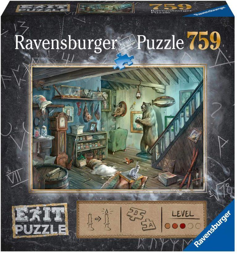 Juegos de mesa y puzzles de Escape - Cabaña aislada
