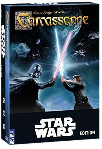 Juegos de mesa de Star Wars - Carcassone de la guerra de las galaxias