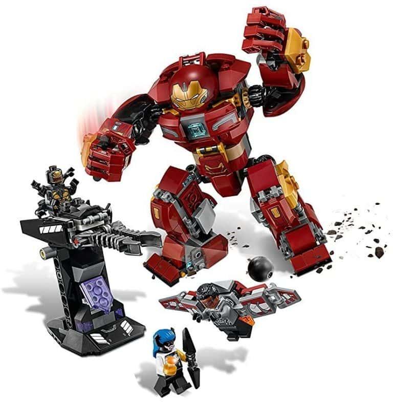 Sets de Lego de construcción de Marvel Vengadores - LEGO Ironman y Falcon
