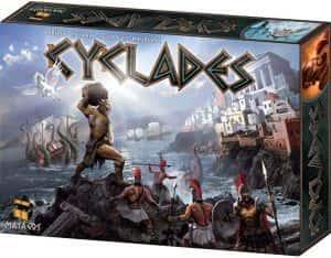 Cyclades El juego de mesa de la grecia antigua