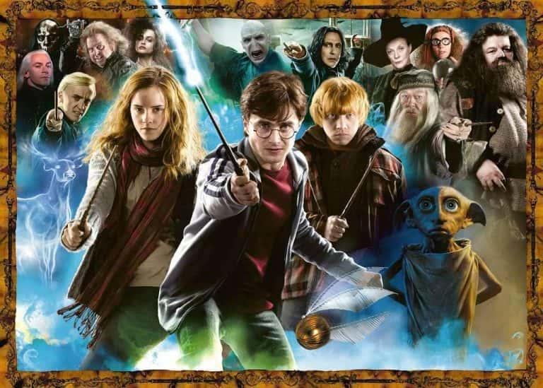 Colección de Puzzles de Harry Potter - Puzzle de Duelos de Magia