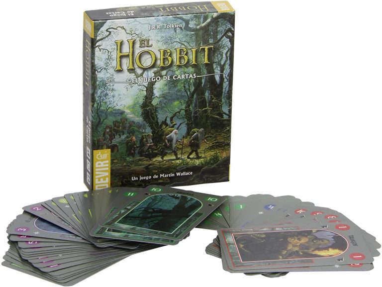 Juegos de mesa del señor de los anillos - el juego de cartas del hobbit
