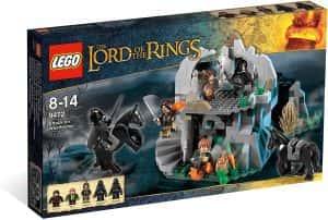 los mejores sets de LEGO del señor de los anillos - Lego el señor de los anillos la cima de los vientos emboscada