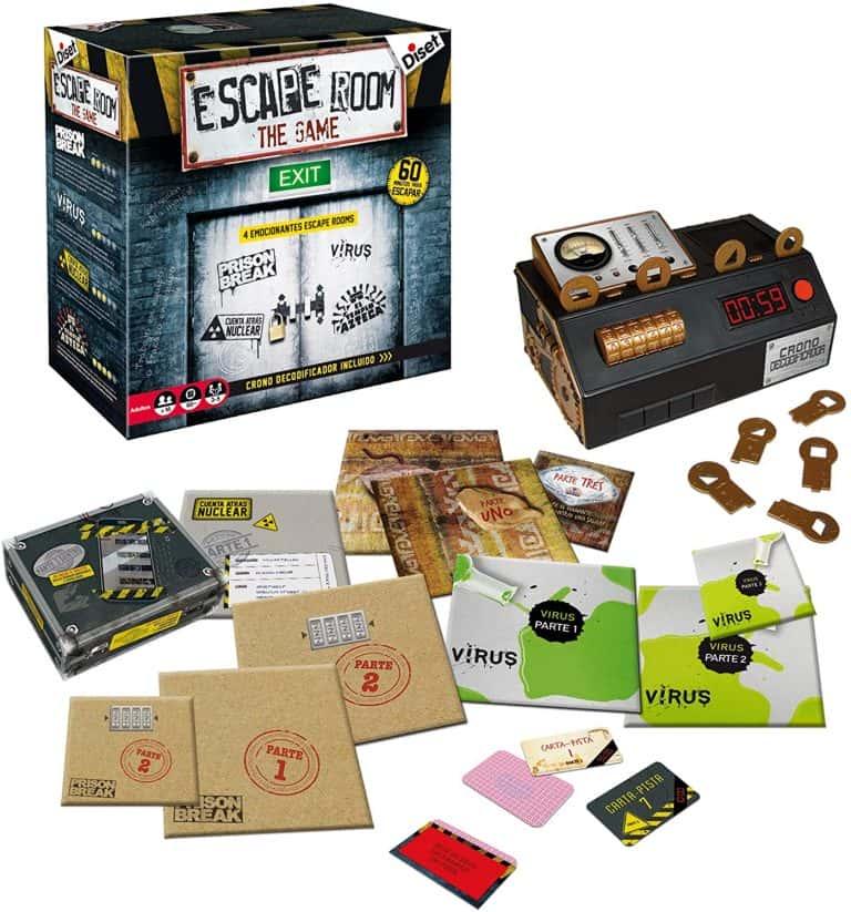 Escape Room 1 Juego de mesa de escapar