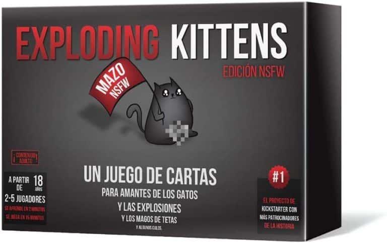 Explolding Kittens. Juego de mesa NSFW