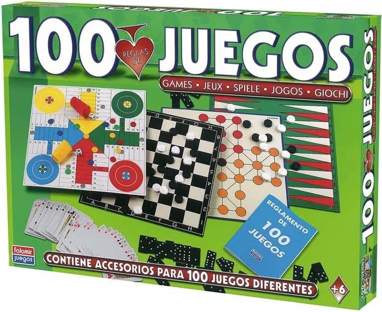 Juegos de mesa de Falomir 100 juegos