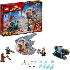 Sets de Lego de construcción de Marvel Vengadores - LEGO Forjando el Stormbreaker en Infinity War
