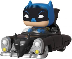 Funko de Batman clasico con batmovil