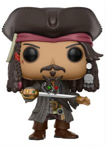 Funko POP de Piratas del Caribe de Jack Sparrow