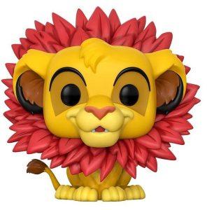 Funkos POP del Rey León - Simba con melena de flores