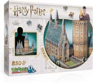 Gran Salon de Hogwarts en 3D puzzle