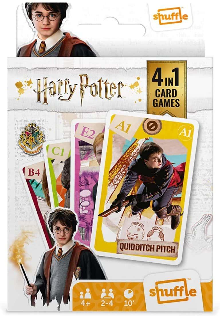 Juegos de mesa de Harry Potter - Juego de Cartas de Harry Potter