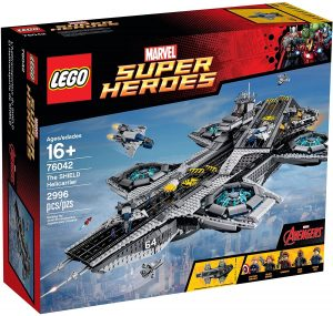 Sets de Lego de construcción de Marvel Vengadores - LEGO helitransporte