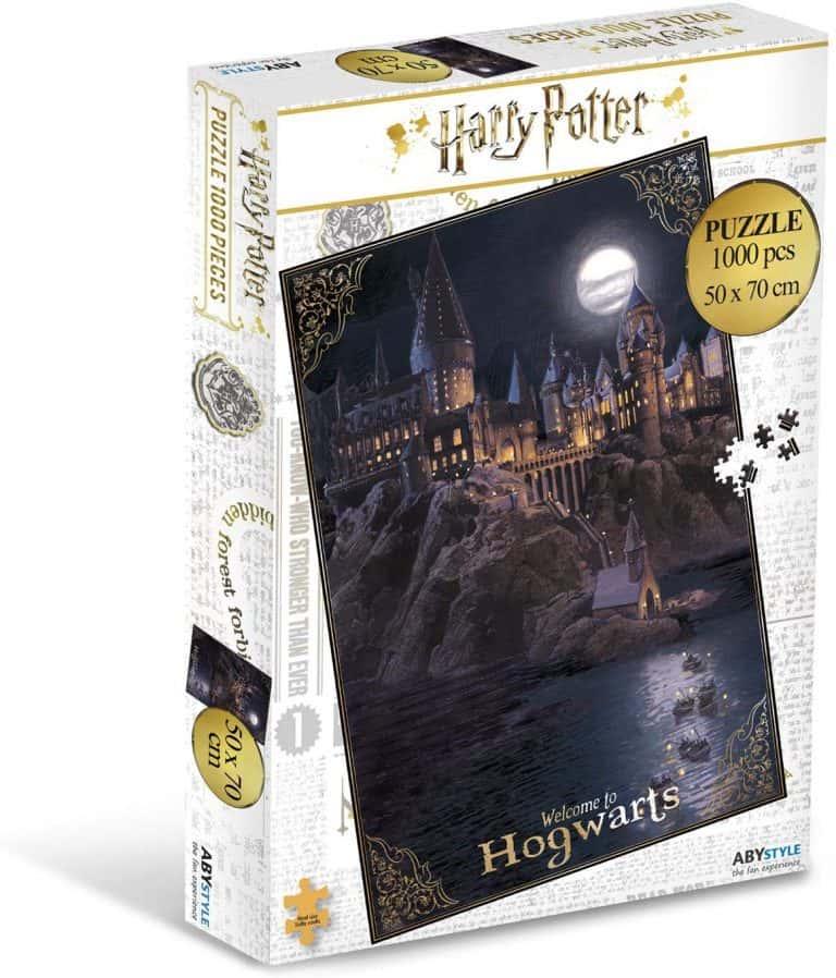 Colección de Puzzles de Harry Potter - Puzzle del colegio de Hogwarts