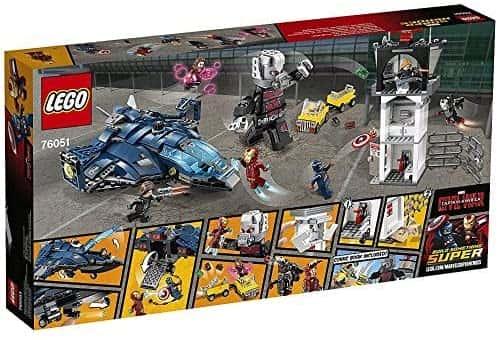 Sets de Lego de construcción de Marvel Vengadores - LEGO batalla del aeropuerto de Civil War