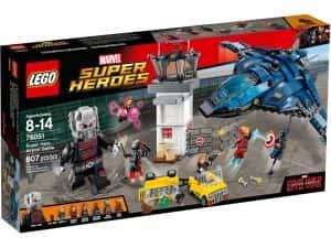 Sets de Lego de construcción de Marvel Vengadores - LEGO la batalla del aeropuerto