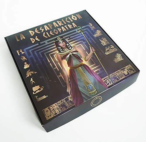 La desaparicion de Cleopatra juego de mesa de escape