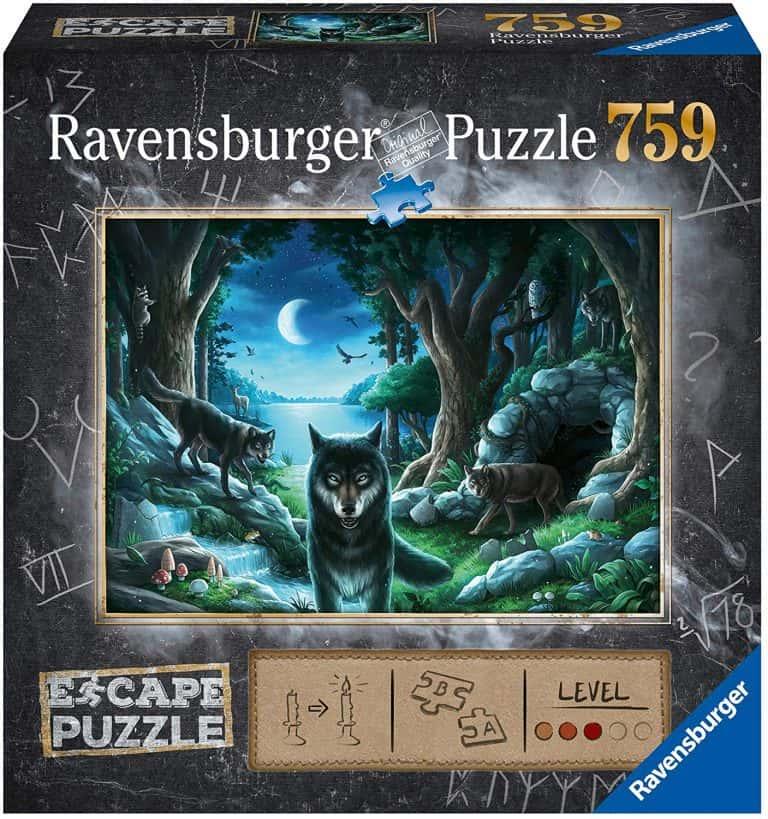 Juegos de mesa y puzzles de Escape - Lobos