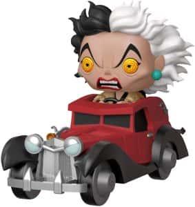 Los mejores FUNKO POP de Disney - Funko de Cruella de Vil en coche