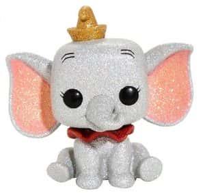 Los mejores FUNKO POP de Disney - Funko de Dumbo purpurina