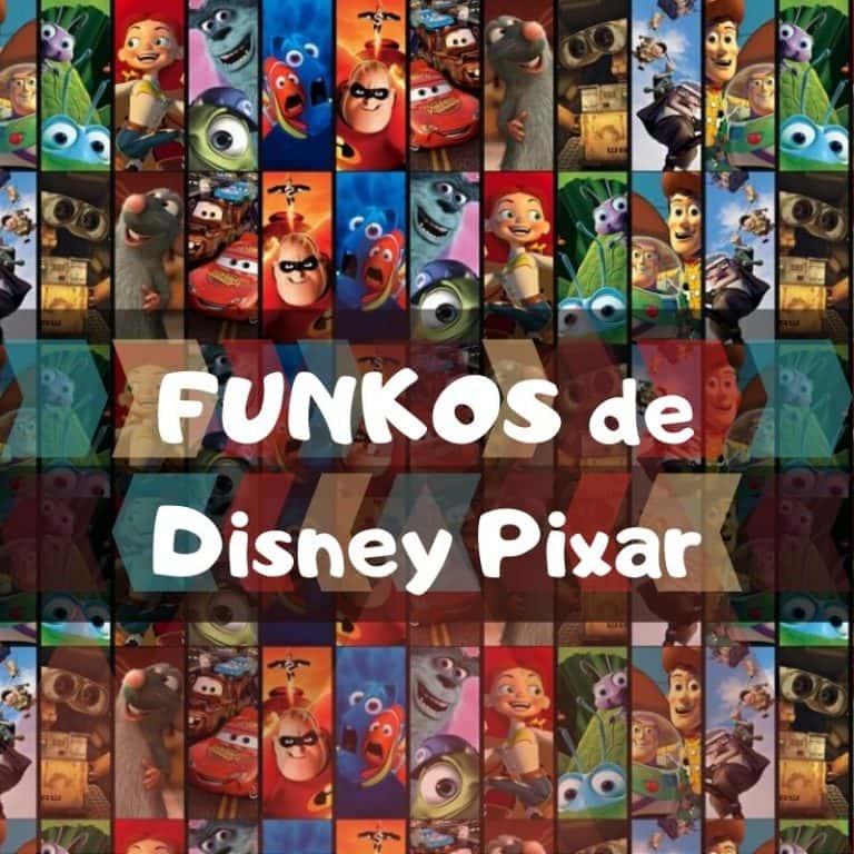 Los mejores funkos POP de personajes de Disney Pixar