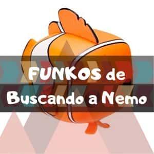 Los mejores FUNKO POP de Disney Pixar de Buscando a Nemo y Buscando A Dory