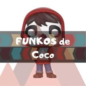 Los mejores FUNKO POP de Disney Pixar de Coco