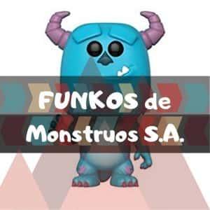 Los mejores FUNKO POP de Disney Pixar de Monstruos S.A.