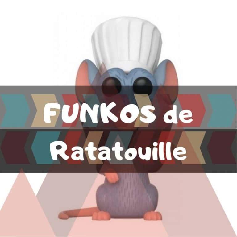 Lee más sobre el artículo Los mejores funkos POP de Ratatouille