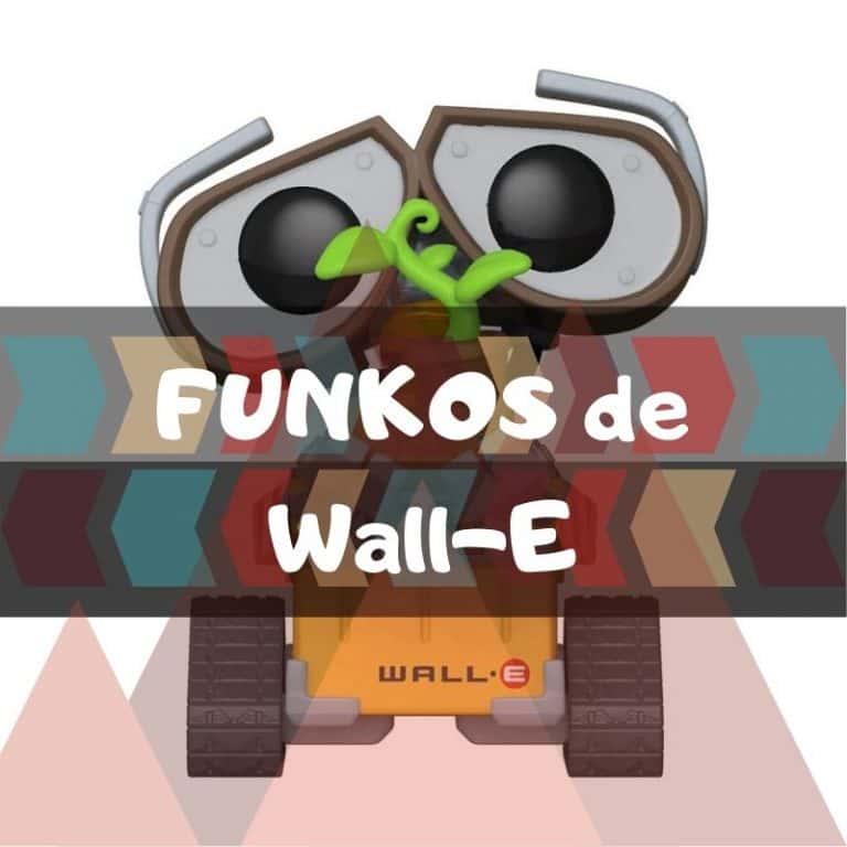 Los mejores funkos POP de Wall-E