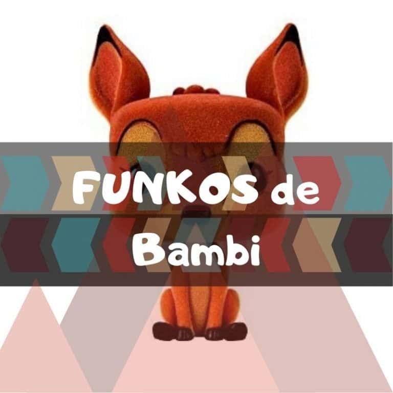 Los mejores funkos POP de Bambi