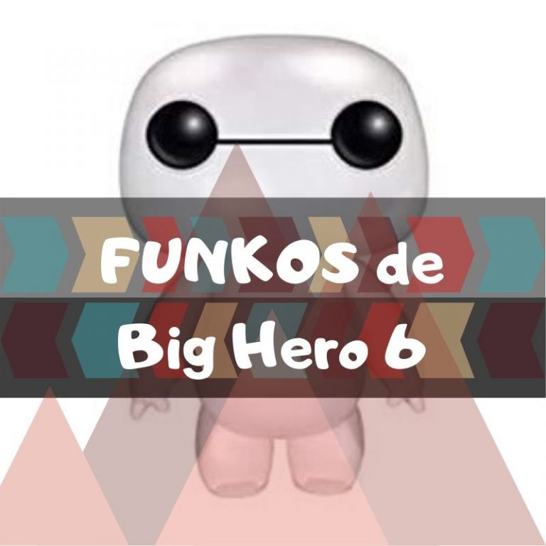 Lee más sobre el artículo Los mejores funkos POP de Big Hero 6