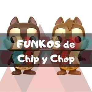 Los mejores FUNKO POP de Disney de Chip y Chop