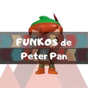 Los mejores FUNKO POP de Disney de Peter Pan