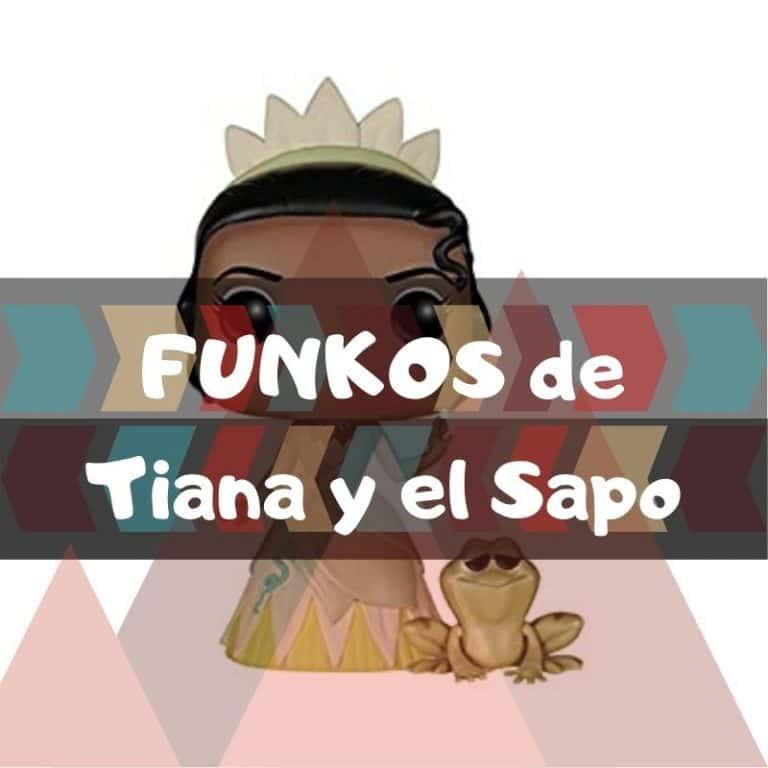Los mejores funkos POP de Tiana y el Sapo