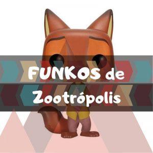 Los mejores FUNKO POP de Disney de Zootopia y Zootrópolis