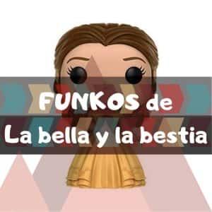 Los mejores FUNKO POP de Disney de la bella y la bestia