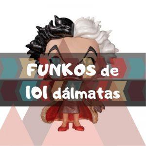 Los mejores FUNKO POP de Disney de los 101 dálmatas