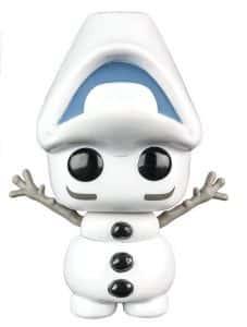 Los mejores FUNKO POP de Frozen - Funko de Olaf descolocado