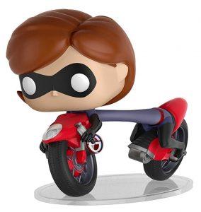 Los mejores FUNKO POP de Los increíbles - Funko de Disney Pixar de Elasticgirl en bicicleta